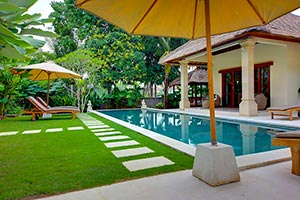Luxury villa rentals in Bali