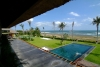 Beachfront villa Shalimar for rent in Canggu beach 12 bedroom 3 villa residence