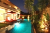 Villa Seminyak rental close to beach 3 bedrooms Jacuzzi sauna 13m pool entertainment