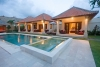Villa Santi with 4 bedrooms large pool bubble spa bar 3 pavilions Bintang